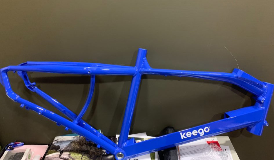 Keego City Delivery Ebike Frame