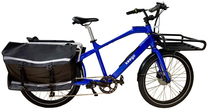 Keego Delivery Ebike With Panniers