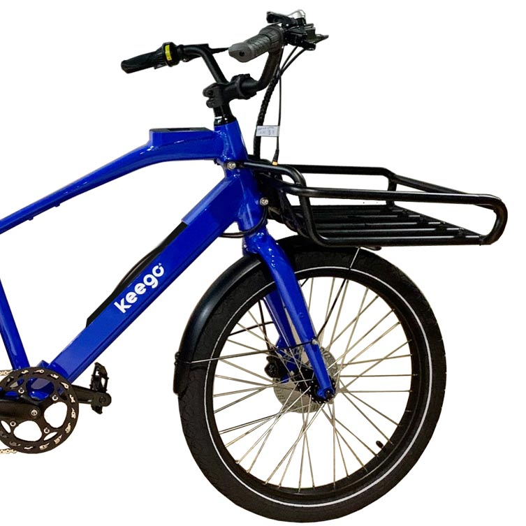 keego delivery ebike front rack