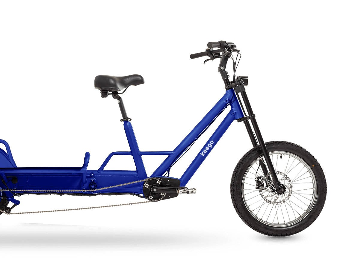 Cargo - Delivery Ebike Front- Keego Mobility