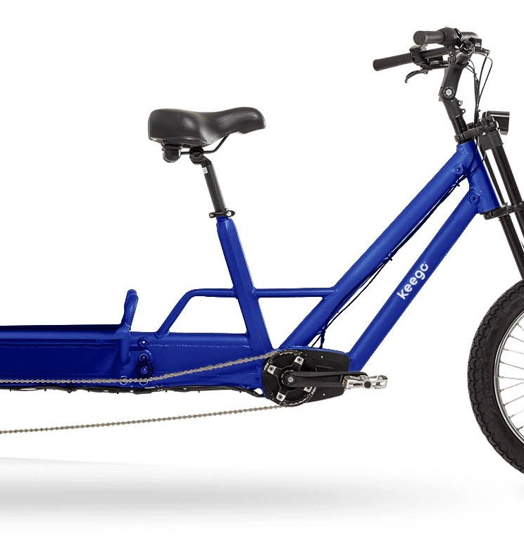 Cargo - Delivery Ebike Middle Motor - Keego Mobility