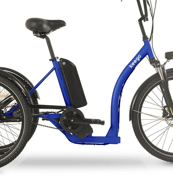 Pioneer - Delivery Ebike Middle Motor - Keego Mobility
