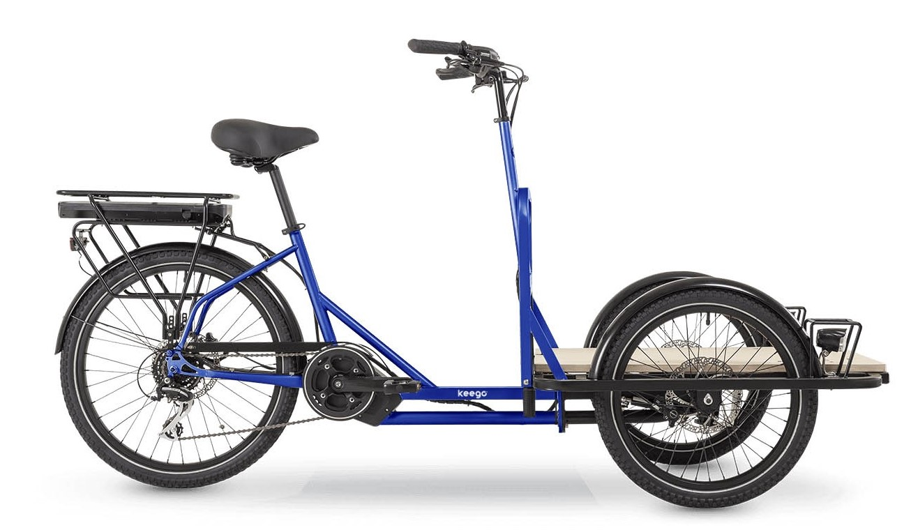Scout - Delivery Ebike - Keego Mobility