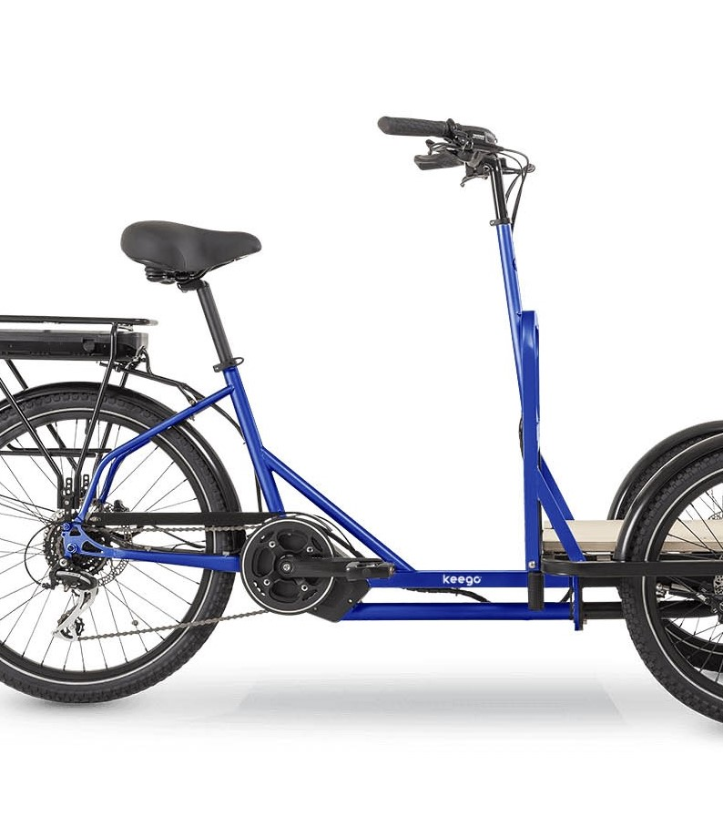 Scout - Delivery Ebike Middle Motor - Keego Mobility