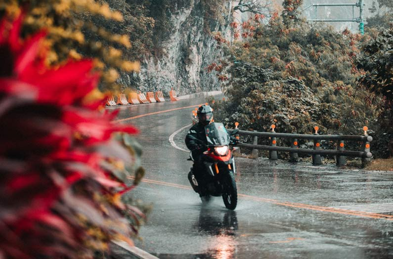 Riding 2-wheelers in all weathers