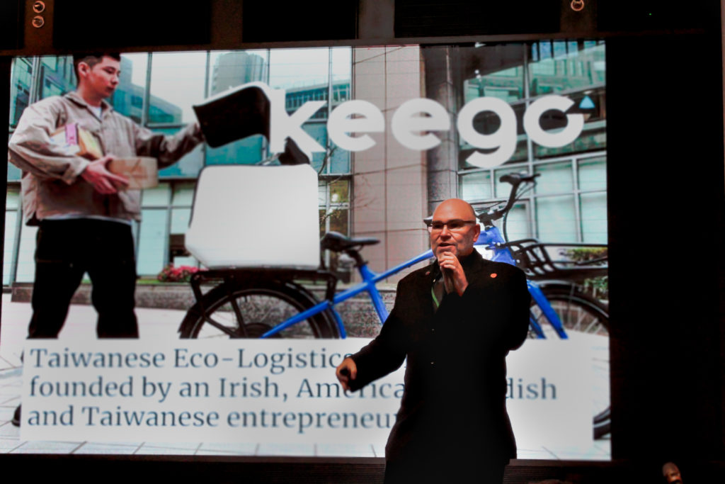 Keego Mobility's Elias Ek to share with the audience our vision of how electric bikes and trikes can help decarbonize the growing Last Mile Delivery industry.
